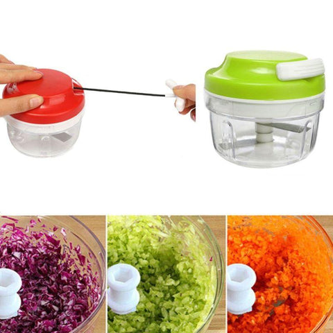 Image of Manual Crank Food Chopper - mommyfanatic