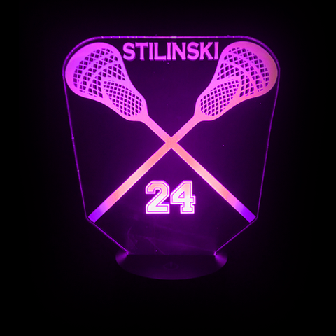 Image of Stilinski Lacrosse LED Lamp - mommyfanatic