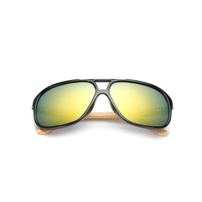Vintage Men Women Bamboo Sunglasses - mommyfanatic