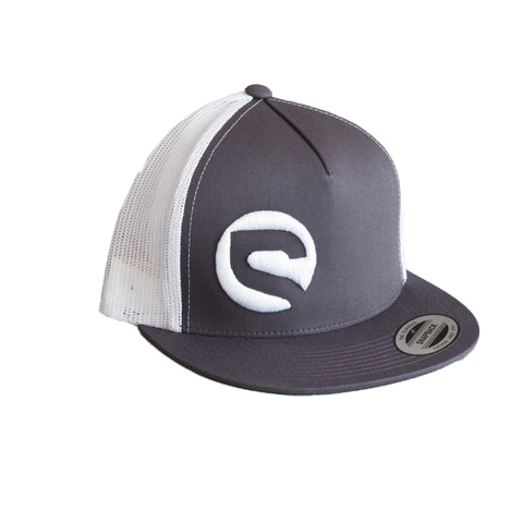 Trucker Hat - Charcoal/White