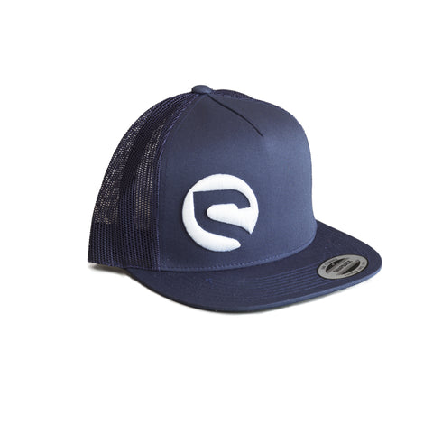 Trucker Hat - Navy - Spot Bikes
