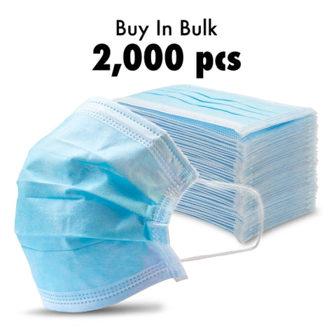 2000 - Disposable Protective Face Masks