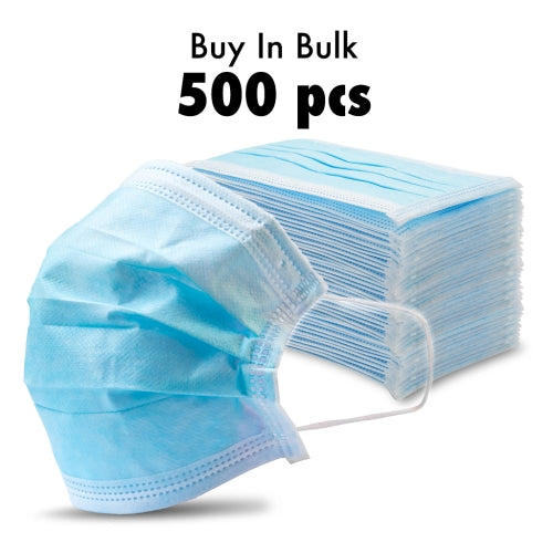 500 - Disposable Protective Face Masks