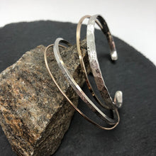 Load image into Gallery viewer, Double Wave Cuff Bracelet