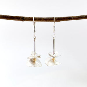 Brushed Petals Earrings