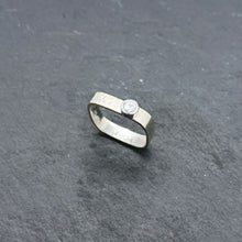 Load image into Gallery viewer, CZ Medium Stacking Ring