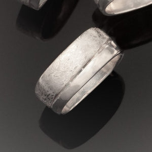 Double Scribble Soft Square Rings