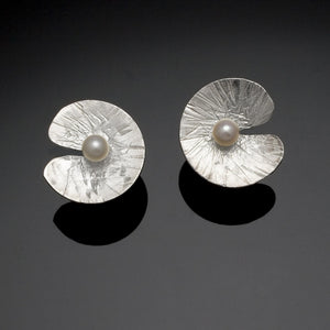 Floating Lily Earrings