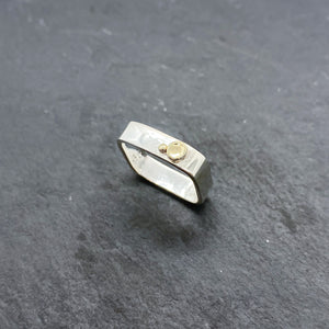 Gold Medium Stacking Rings