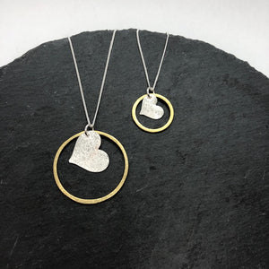 Golden Love Necklace