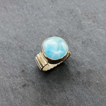 Load image into Gallery viewer, Larimar Ring Size 8.5