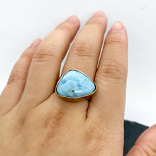 Load image into Gallery viewer, Larimar Ring Size 9