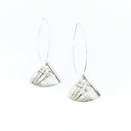 Long Woven Kite Earrings