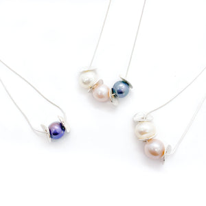 Spring Petal Slider Necklaces