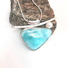 Load image into Gallery viewer, Larimar Summer Necklace