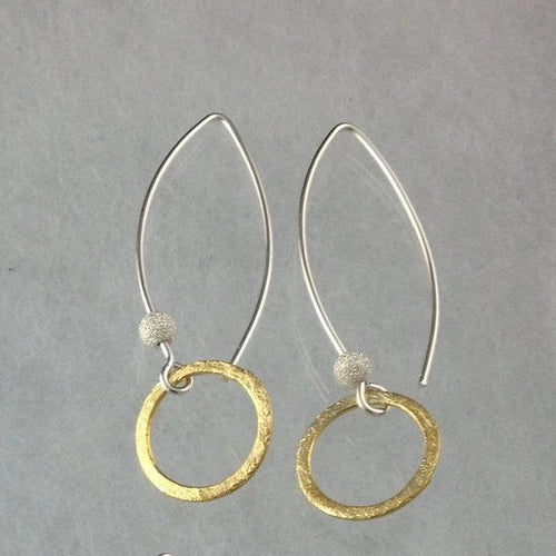 Golden Ring Earrings