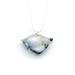 """In the Fog"" Sea To Sky Necklace"