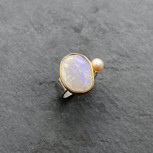 Opal Ring Size 6.5