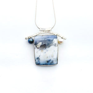 """The Peak"" Sea To Sky Necklace"