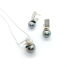 Load image into Gallery viewer, Tahitian Black Pearl Set