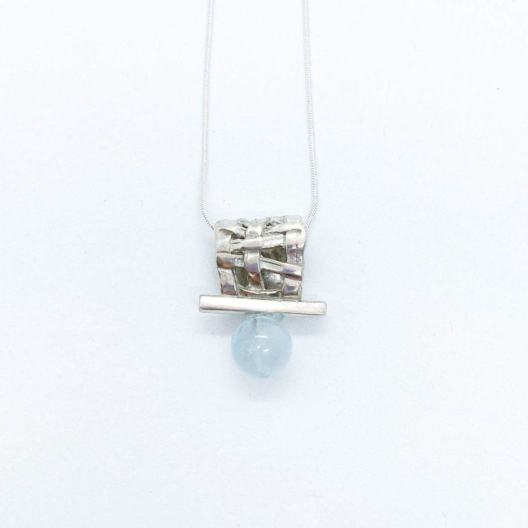 Woven Slider Necklace