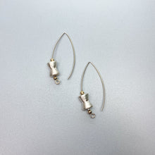 Load image into Gallery viewer, Brushed Silver Earrings