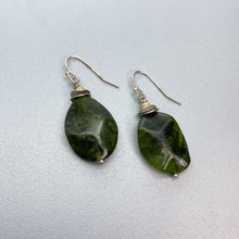 Load image into Gallery viewer, BC Jade Lever back Earrings