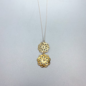 Vermeil Flower Necklace