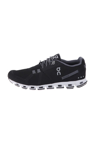 Women's Cloud Running Shoe - Black White