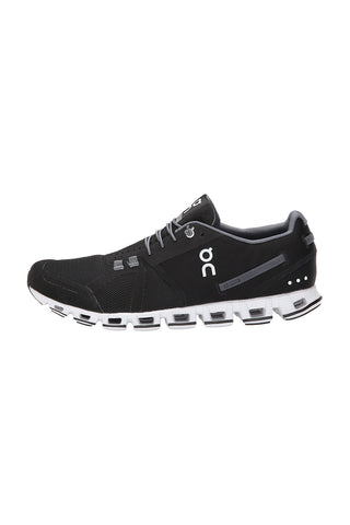 Men's Cloud Running Shoe - Black White