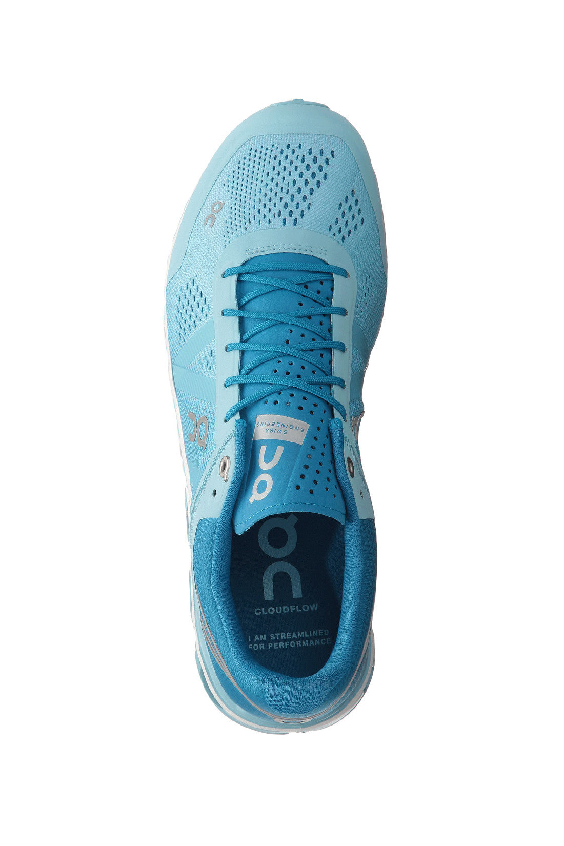 Swiss engineering, best performance shoes, breathable, spin class, Women's Cloudflow Running Shoe - Blue Haze