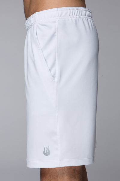 Tennis, Outdoor, Sweat wicking, sturdy, fits perfectly, Light, Legacy Knit short - Bright White