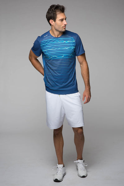 Tennis, Outdoor, Sweat wicking, sturdy, fits perfectly, Light, deep pockets Legacy Knit short - Bright White