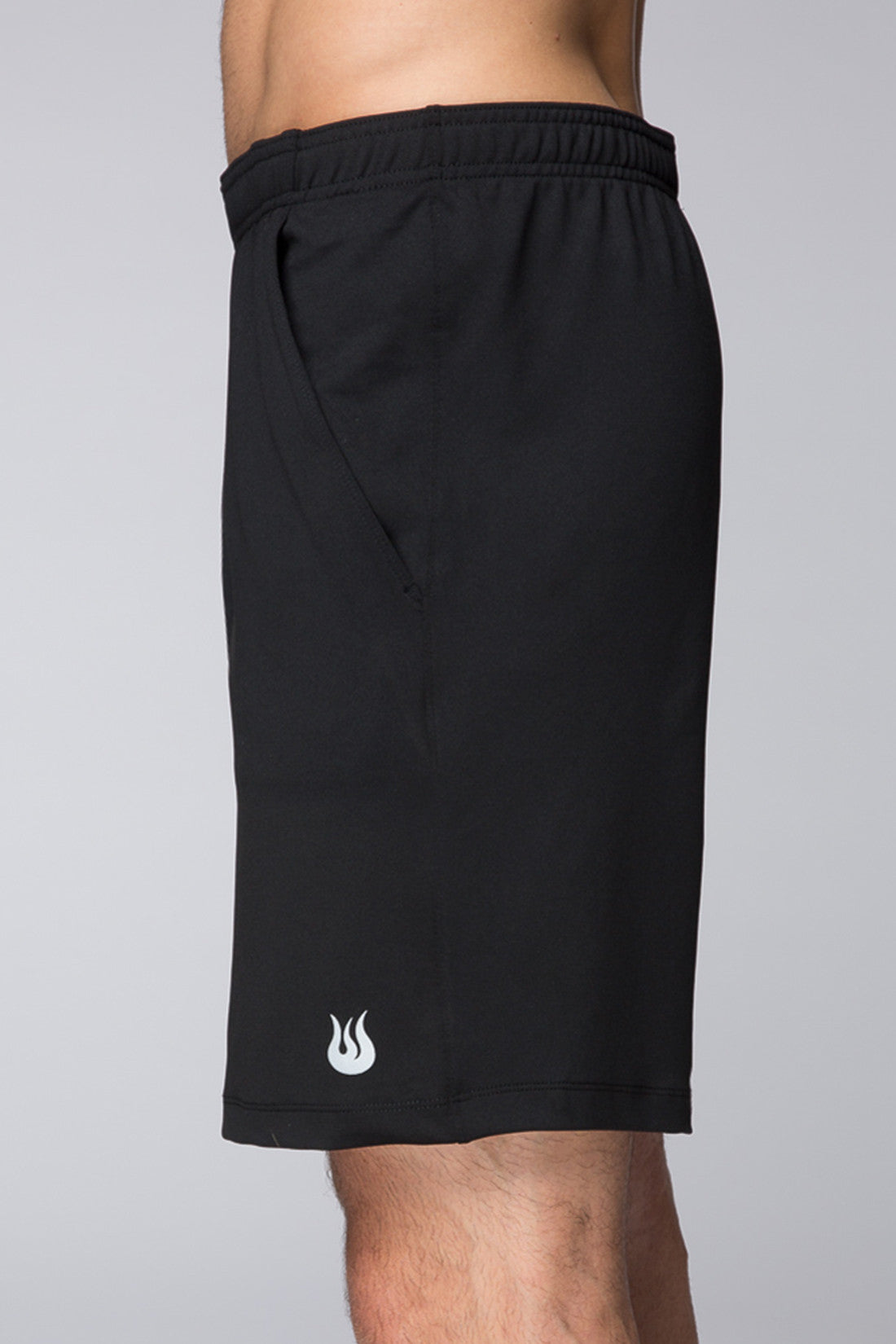 Tennis, Outdoor, Sweat wicking, sturdy, fits perfectly, Light, deep pockets, Legacy Knit short - Jet Black