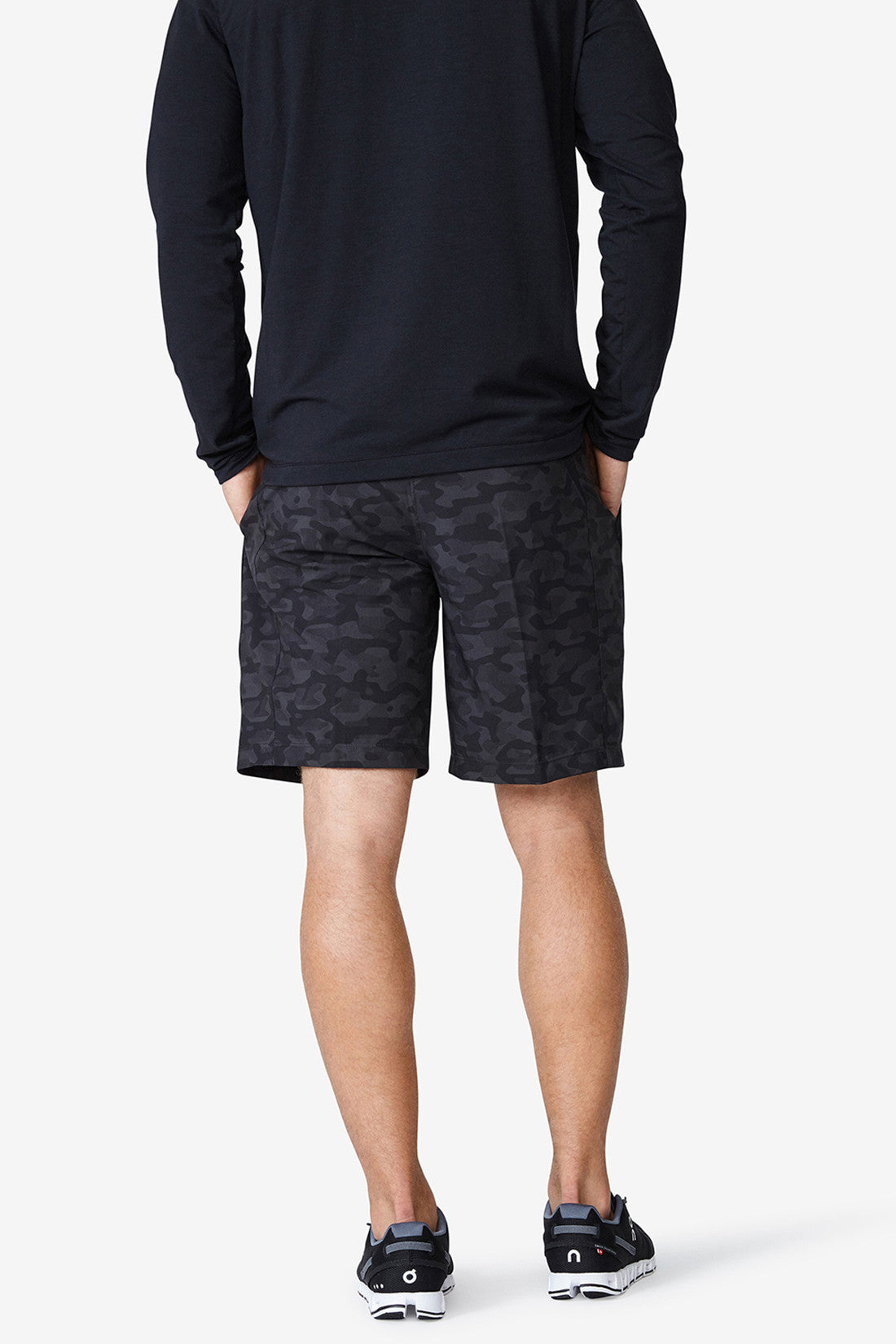 "Accelerate 9"" Short1 - Charcoal Camo"