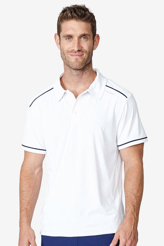 Performance Polo - Bright White