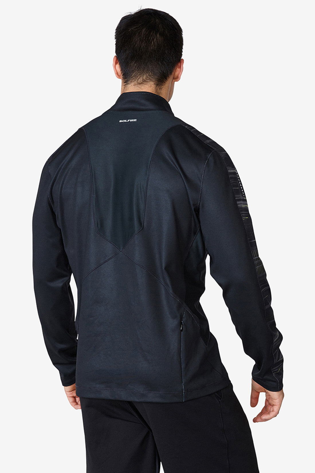 Accelerate 1/4 zip - Anthracite