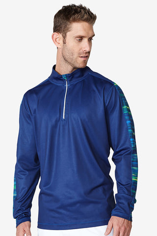 Accelerate 1/4 zip - Royal Blue