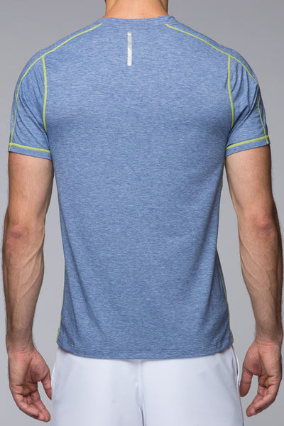 Tech Tee - Blue Heather