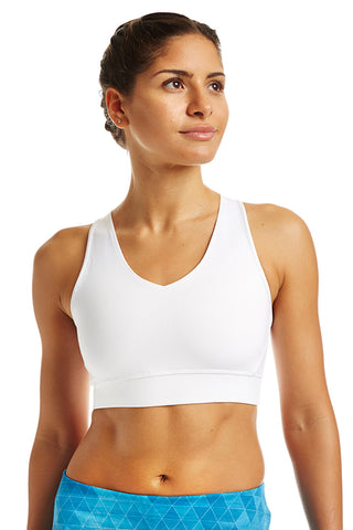 Dynamic Bra  - Bright White