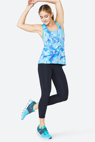 Stretch Your Limit Tank - Floral Geo