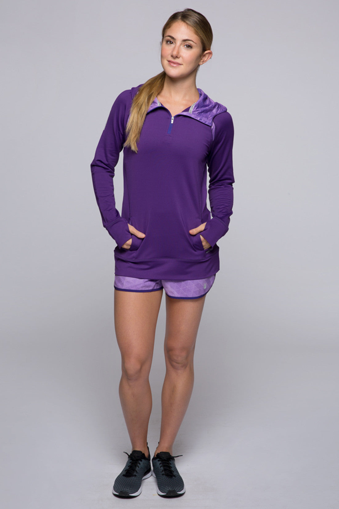 Accelerate 1/4 Zip - Acai