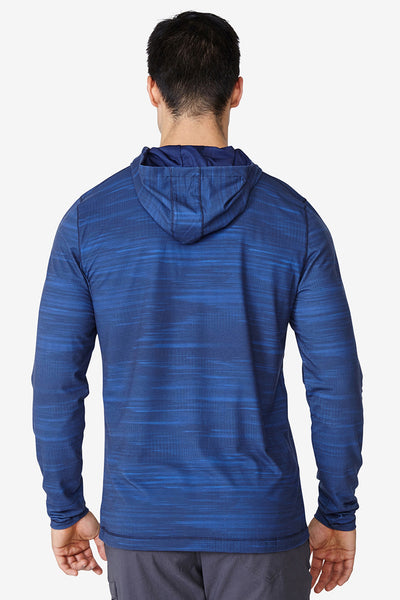 Kick it Hoodie - Turkish Blue