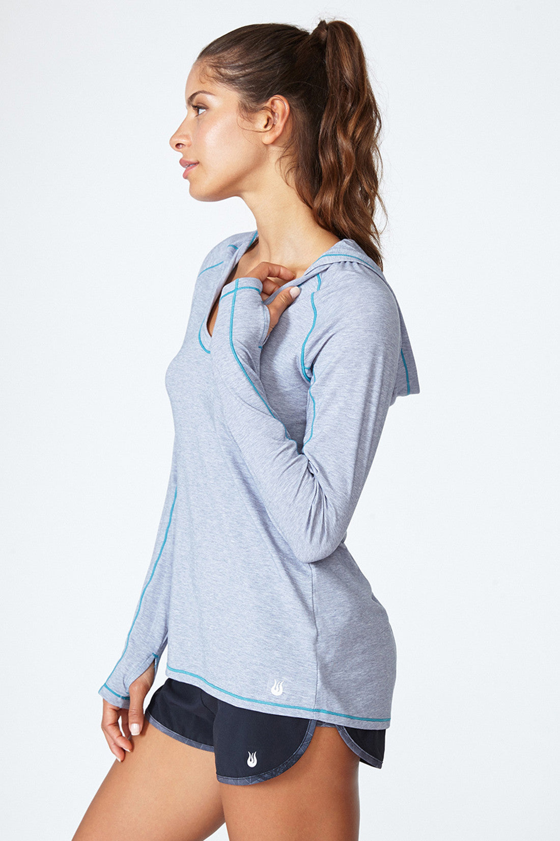Cut It Out Hoodie - Grey Heather