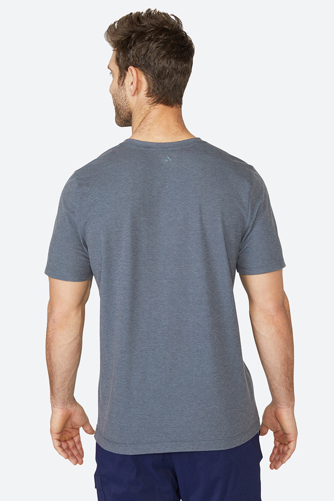 Cooling, skin-like, quick drying, light tech, lightweight, best quality, Standard Tee - Grey Charcoal