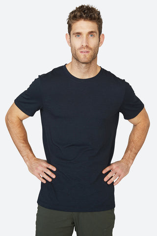 Cooling, skin-like, quick drying, light tech, lightweight, best quality, Standard Tee - Black