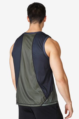 Training Tank - Olive Night