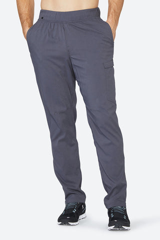 Men's jogger, lifestyle pants, comfortable, cooling, warming, sweat wicking, best feeling to the skin, Nomad Pant - Pewter