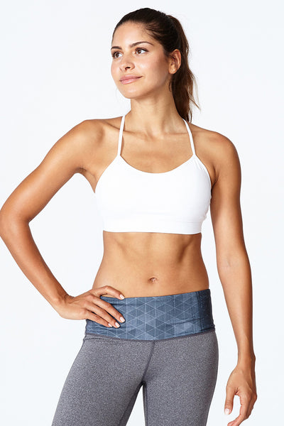 Best sports bra, Skin like bra, Comfortable, Yoga, Everyday Sports bra, Circuit Bra - Bright White