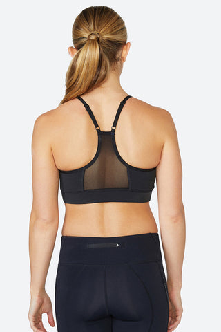 Best sports bra, Skin like bra, Comfortable, Yoga, Everyday Sports bra, Circuit - Jet Black